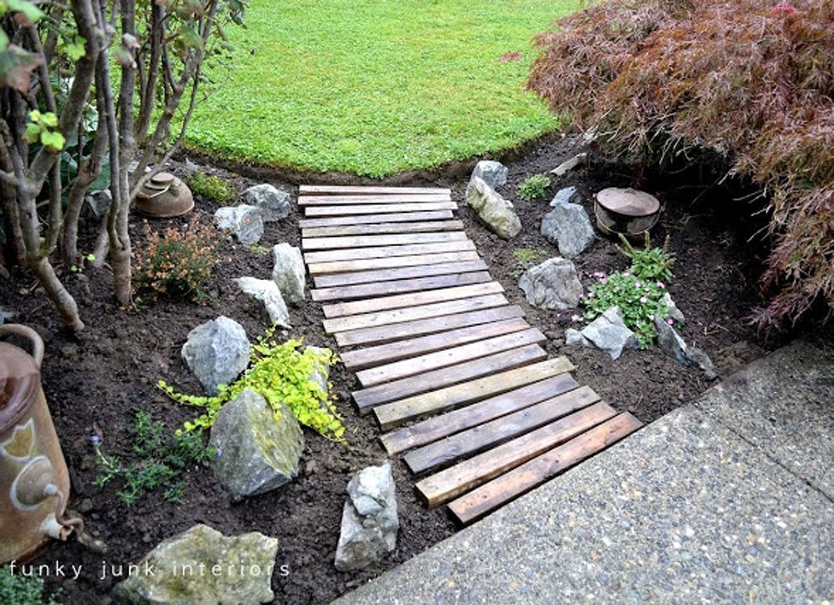 10 Cheap Landscaping Ideas You Can DIY in a Day - Bob Vila on Uphill Backyard Landscaping Ideas id=73476