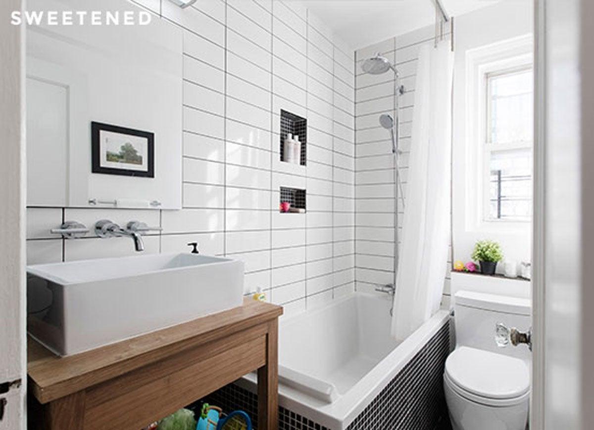 Small Bathroom Ideas - Bob Vila on Small Space Small Bathroom Ideas With Tub And Shower id=49247