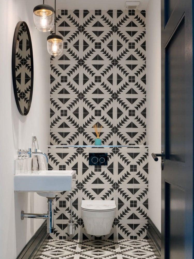 Small Bathroom Ideas - Bob Vila on Small Space Small Bathroom Tiles Design  id=86330