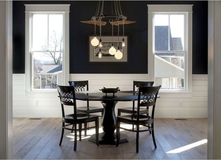 Shiplap Designs - 17 Ways to Use Shiplap in Your Home ... on Farmhouse:-Cra1Rtrksu= Dining Room Curtains  id=69855