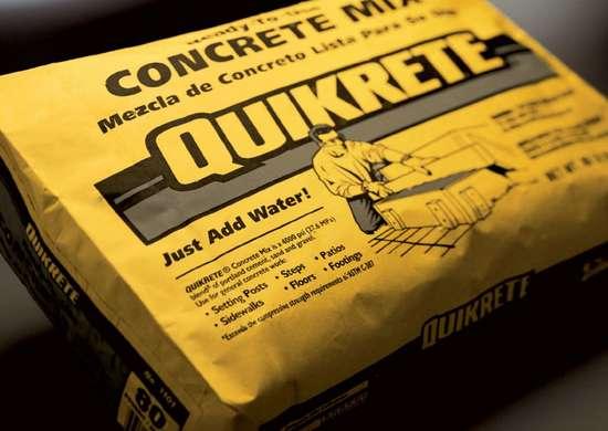 Bags Concrete Quick Mix