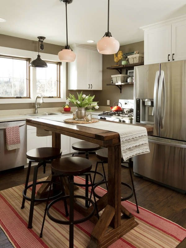 15 Small Kitchen Island Ideas That Inspire Bob Vila
