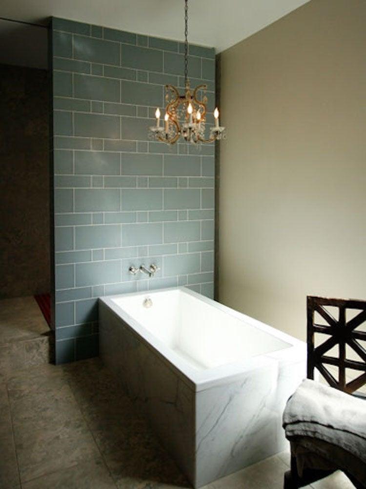 10 Shower Tile Ideas that Make a Splash - Bob Vila on Contemporary:kkgewzoz5M4= Small Bathroom Ideas  id=93152