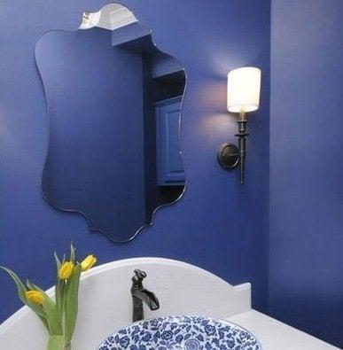 blue bathroom bright paint colors 7 tips for a bolder on blue paint bathroom ideas exterior id=29979