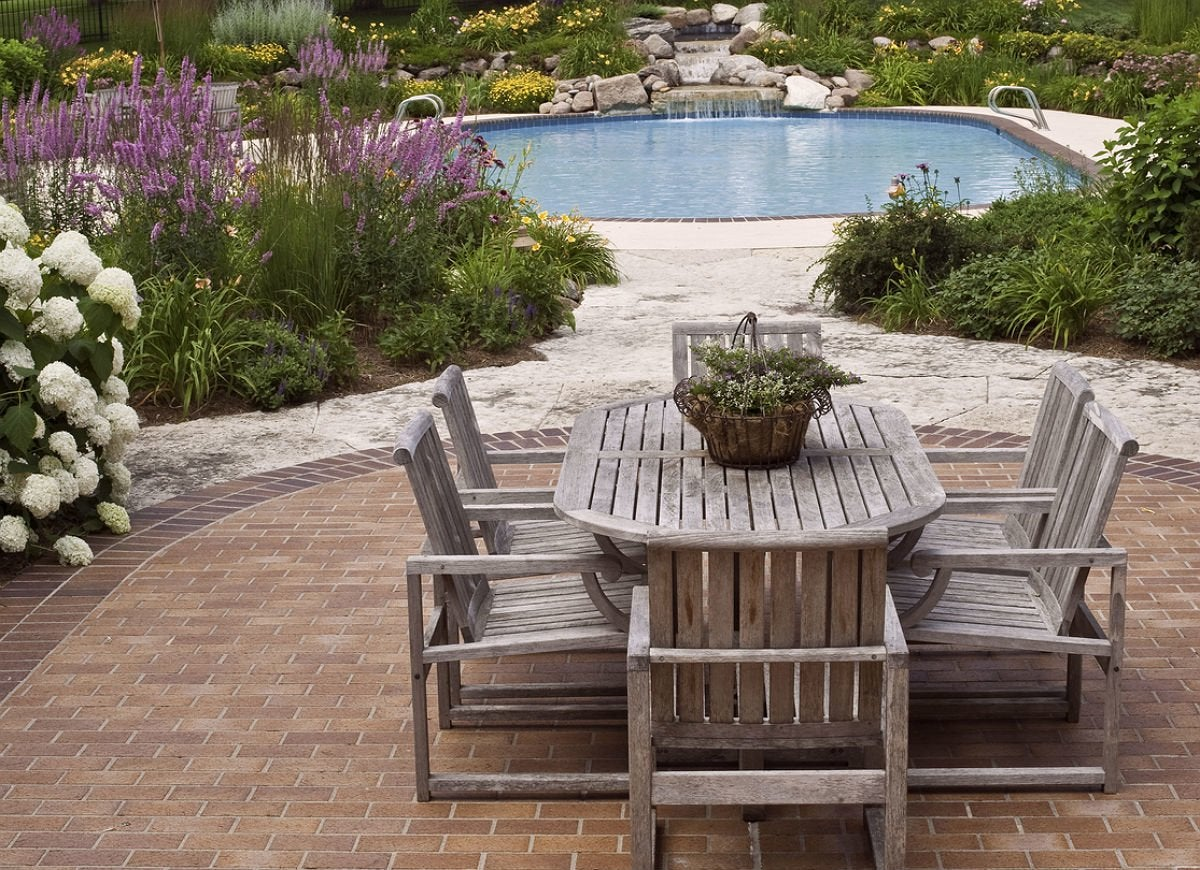 9 Brick Patio Ideas for a Beautiful Backyard | Bob Vila ... on Small Backyard Brick Patio Ideas  id=52296