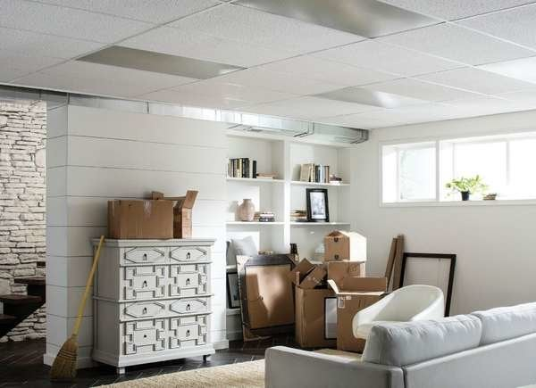 There are pros and cons to traditional drop ceilings.