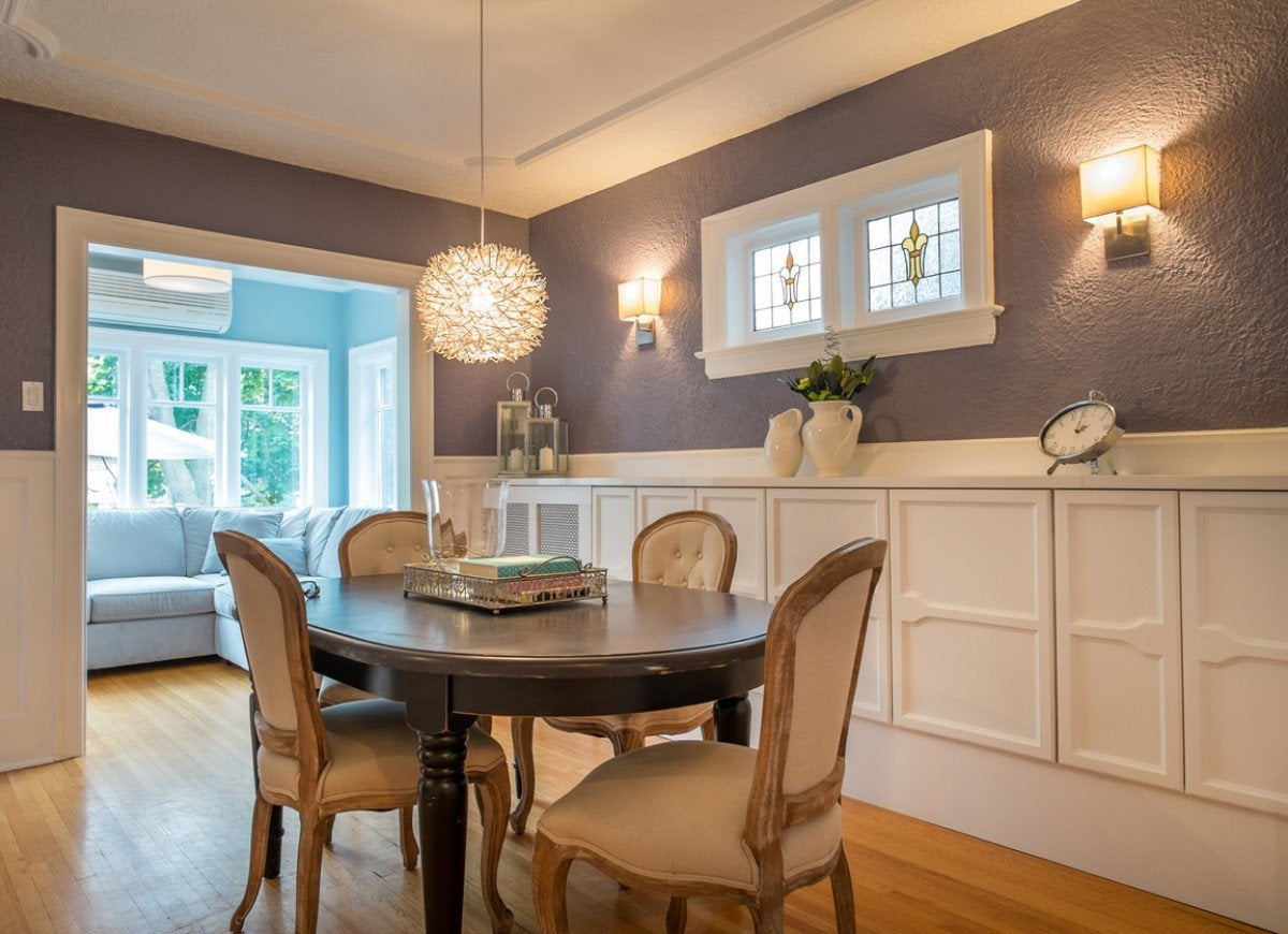 Dining Room Lighting Ideas for Every Design Style | Bob ... on Dining Room Sconce Idea id=92397