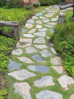 Walkway Ideas - 15 Ideas for Your Home and Garden Paths ... on Stepping Stone Patio Ideas  id=59143