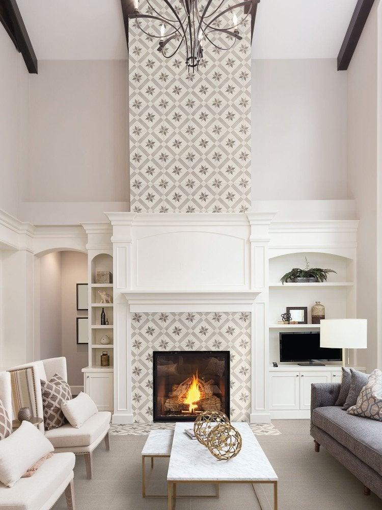 Modern Living Room Fireplace Design Novocom Top