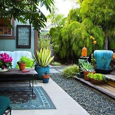 Backyard Makeovers - 7 Budget-Friendly Tips and Tricks ... on Patio Makeovers On A Budget id=73816