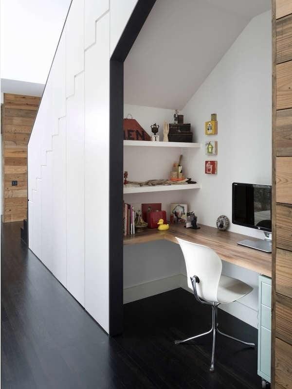 Under Stair Storage 17 Clever Ideas Bob Vila   Mini Bar Design Under Stairs   Basement Bar
