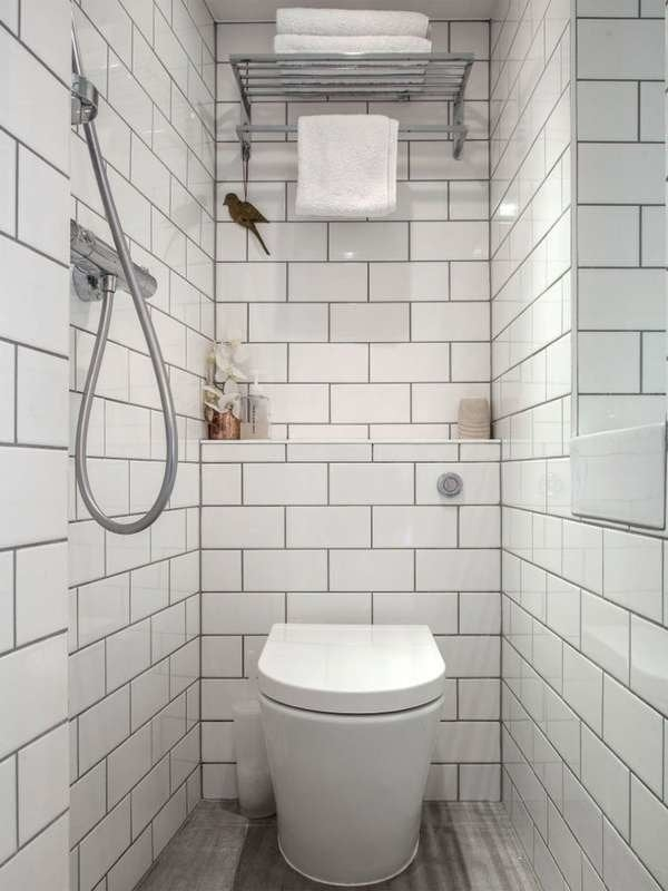 Small Bathroom Ideas Bob Vila   Under Stair Toilet Design   Toilet Separate   Small   Powder Room   Down   Minimalist