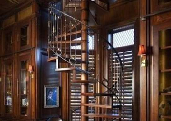 Library Spiral Staircase Spiral Stairs 11 Twisted Designs Youll Love Bob Vila