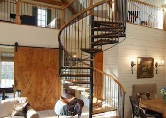 Spiral Stairs 11 Twisted Designs You Ll Love Bob Vila | Iron And Wood Staircase | Internal | Farmhouse | Free Standing Wood | Modern | Design