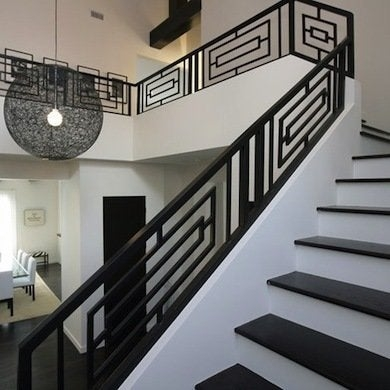 Staircase Railing 14 Ideas To Elevate Your Home Design Bob Vila   Railings Stairs Inside House   Wood   Cable Railing Systems   Deck Railing   Glass Railing Ideas   Banister