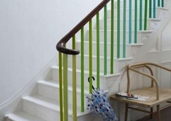 Staircase Railing 14 Ideas To Elevate Your Home Design Bob Vila | Tubular Stair Railings Design | Simple | Grill Work | Residential Industrial Stair | Welded | Stair Case Railing