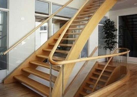 Staircase Railing 14 Ideas To Elevate Your Home Design Bob Vila | Glass Staircase Panels Near Me | Glass Railing Systems | Wood | Spiral Staircase | Stair Parts | Stainless Steel