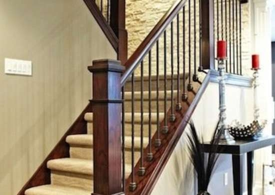 Staircase Railing 14 Ideas To Elevate Your Home Design Bob Vila | Staircase Side Railing Designs | Stair Pattern | Simple | Residential | Italian | Entrance