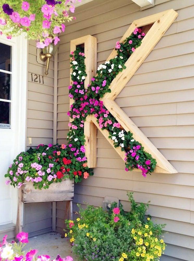 "DIY Vertical Garden - 10 Ways to ""Grow Up"" - Bob Vila on Plant Hanging Ideas  id=66449"