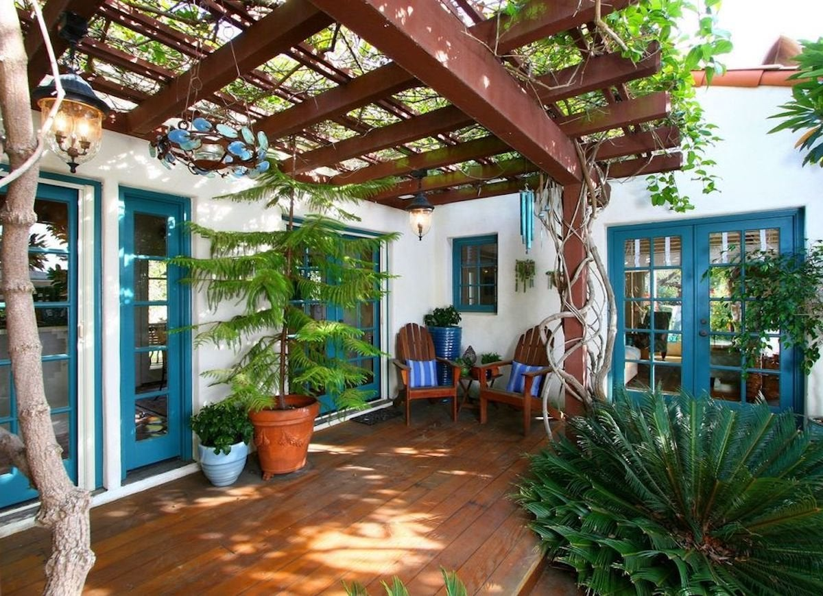 Patio Shades Ideas - 10 Clever Ways to Take Cover Outdoors ... on Backyard Balcony Ideas id=77143