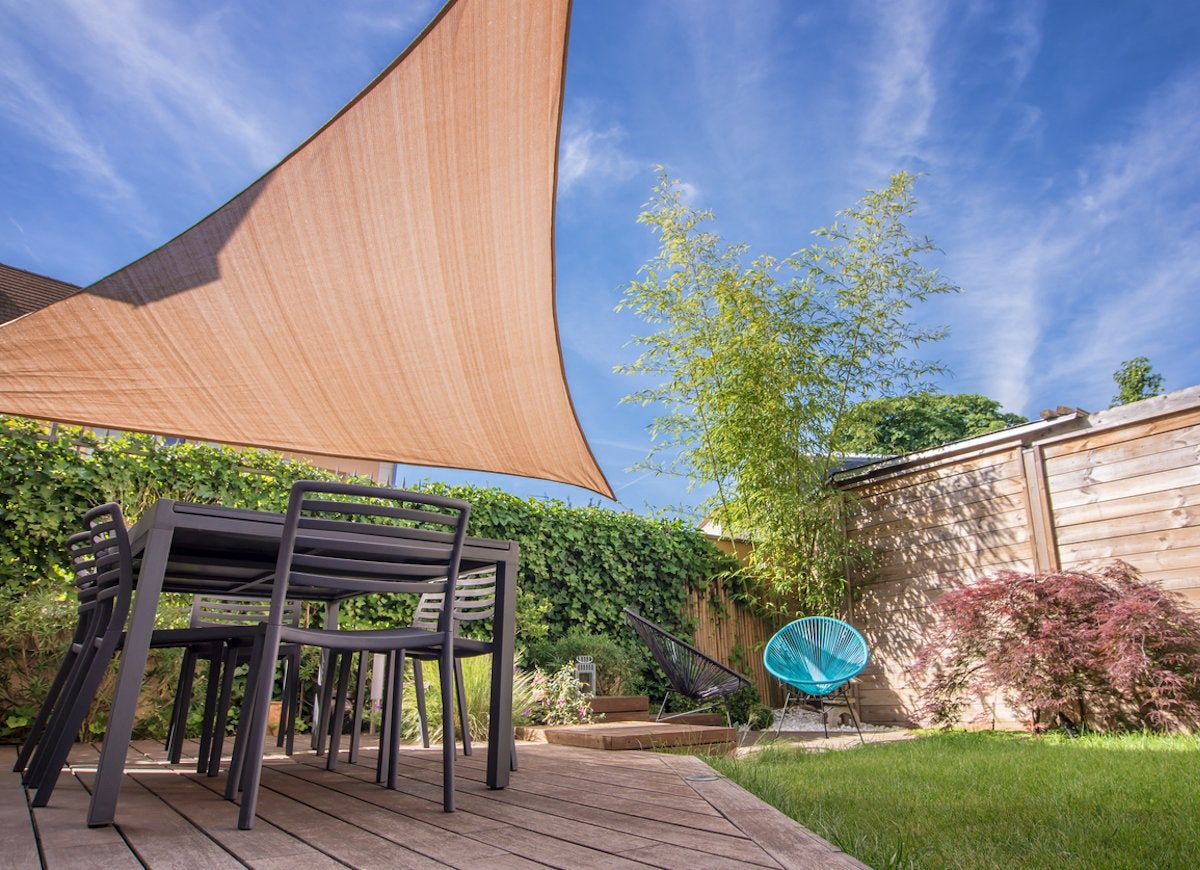 Patio Shades Ideas - 10 Clever Ways to Take Cover Outdoors ... on Shady Yard Ideas  id=84246