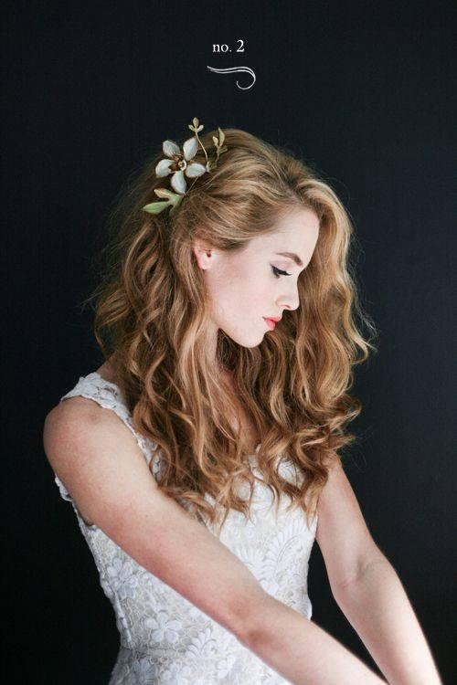 Ideias De Penteados Com Cabelo Solto Para Noivas