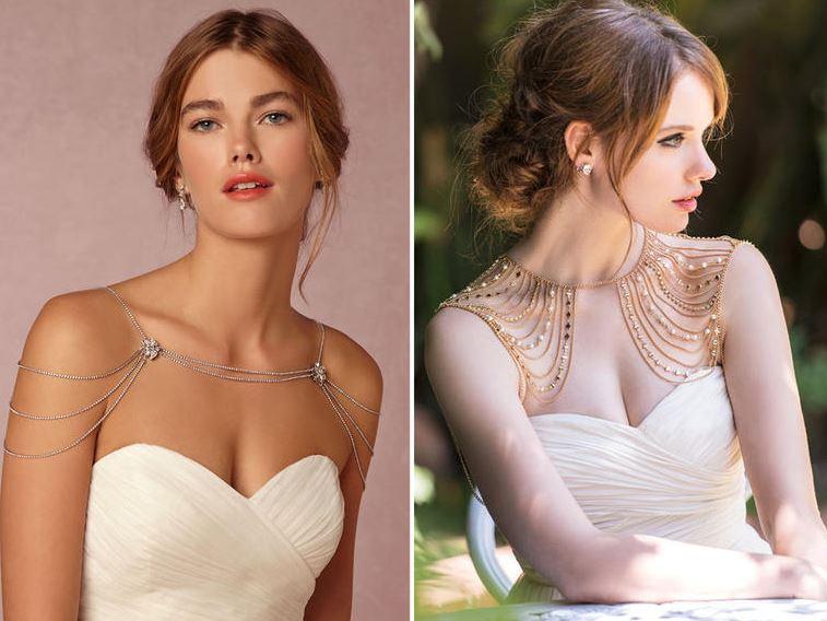 Acessório para os ombros é tendência para noivas