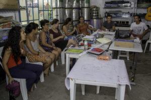 1ª formação continuada de educadores, em Santa Branca (SP). Clique para ampliar.