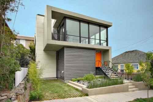 Uma casa moderna. Compare com a casa do Thomas Edson