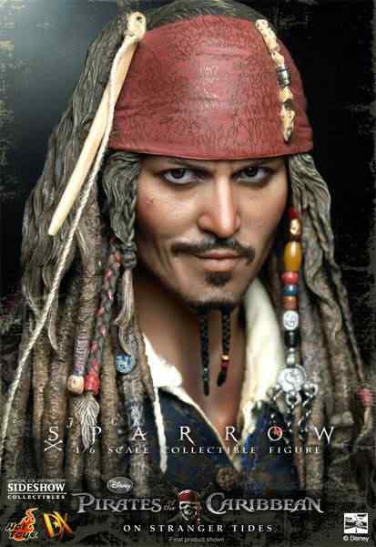 Sideshow Captain Jack Sparrow