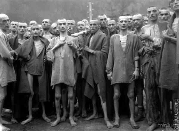 Cenas de um campo de concentração nazista