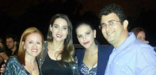 A Vivian do Temperaria, as globais e eu. (foto roubada do instagram dela)