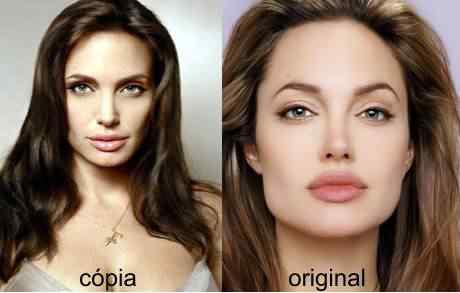 Stefanini gastou 260 mil dólares para ficar com o rosto igual ao de Angelina Jolie