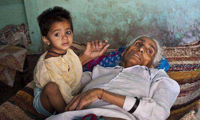 World's Oldest Mum Bedridden