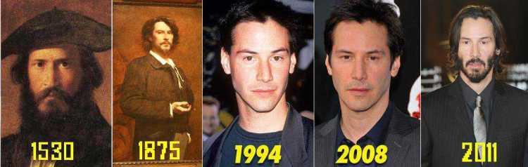 O cara é tão conservado que o povo faz zoações diversas com ele por seu lento envelhecimento.