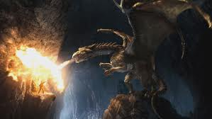Kilgharrah the Great Dragon from Merlin