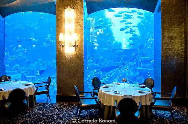 Ossiano Restaurant; Atlantis; The Palm; Dubai; United Arab Emirates, Chef, Santi Santamaria,