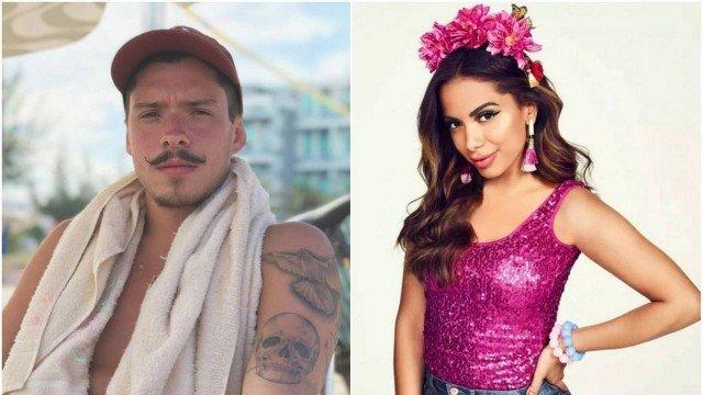 Ex de Anitta afronta e curte festa com amigas da cantora