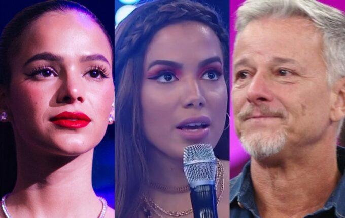 Coluna dos Famosos: Cantora esnoba Anitta na TV, Bruna Marquezine passa por apuros na Angola e ator expõe a Globo