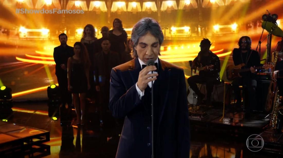 Di Ferrero cega durante performance no Show dos Famosos e fica sem enxergar nada