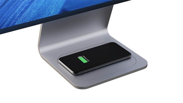 iMac concept with wireless charging