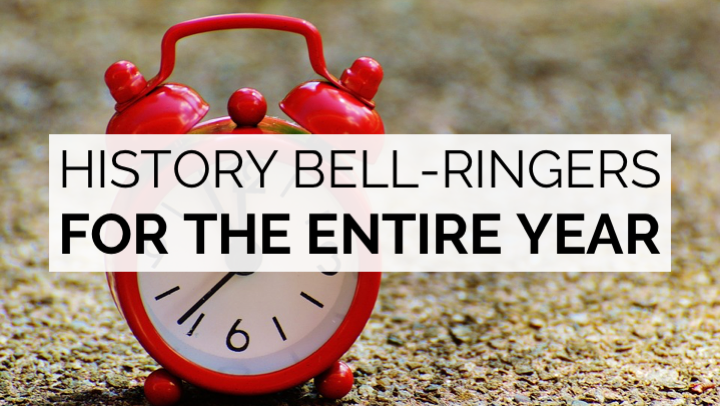 Today in History Bell-Ringers for the Entire Year