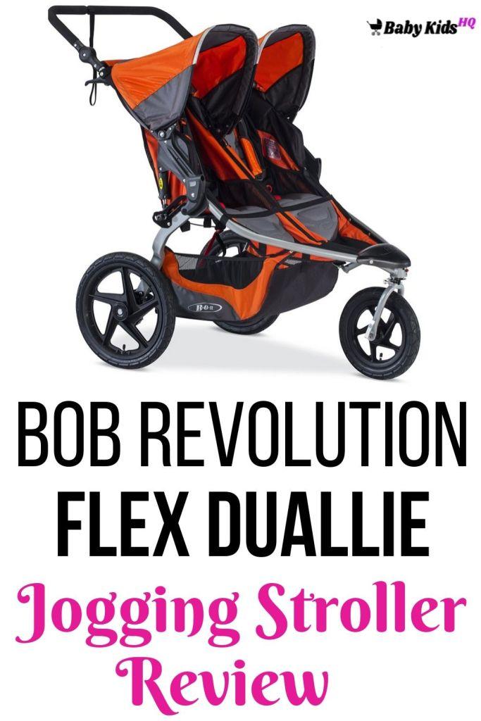BOB Revolution Flex Duallie Jogging Stroller Review