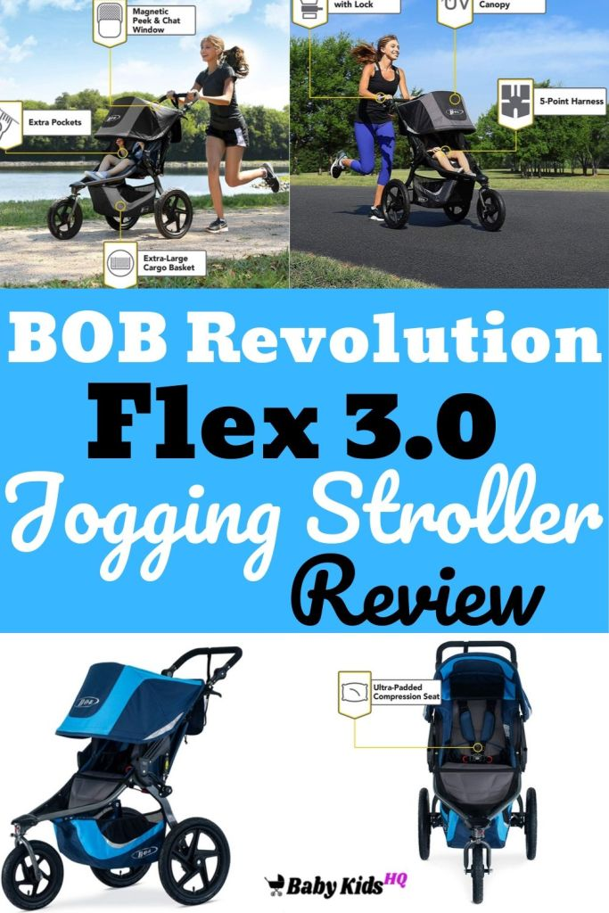 The BOB Revolution flex 3.0 jogging stroller with the latest innovative features, the Revolution FLEX is perfect for any sport experience.