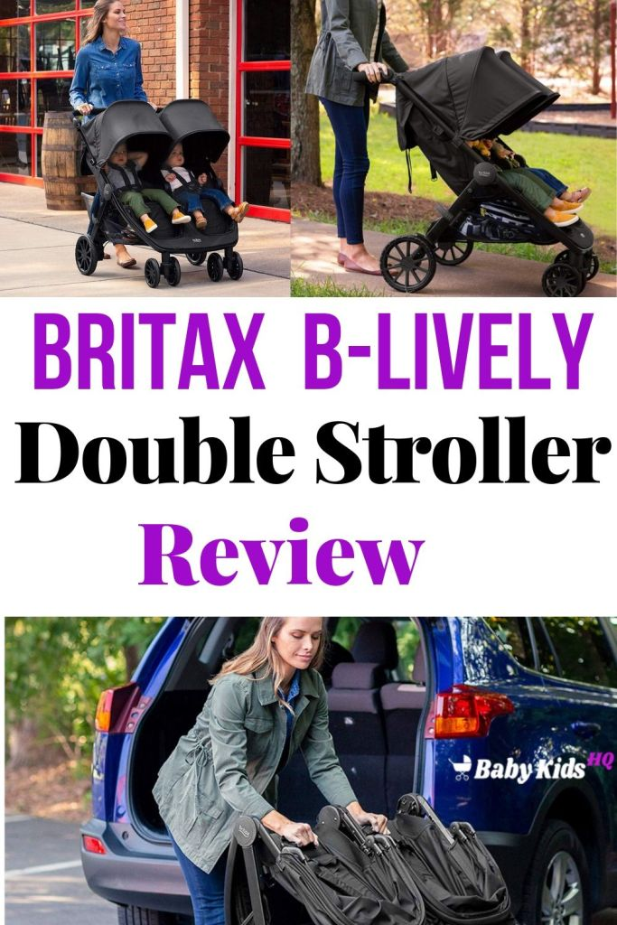 Britax B-Lively Double Stroller Review