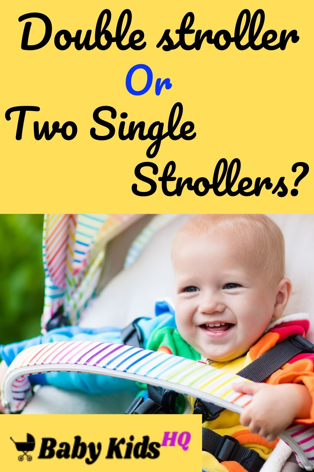 Double stroller Or Two Single Strollers