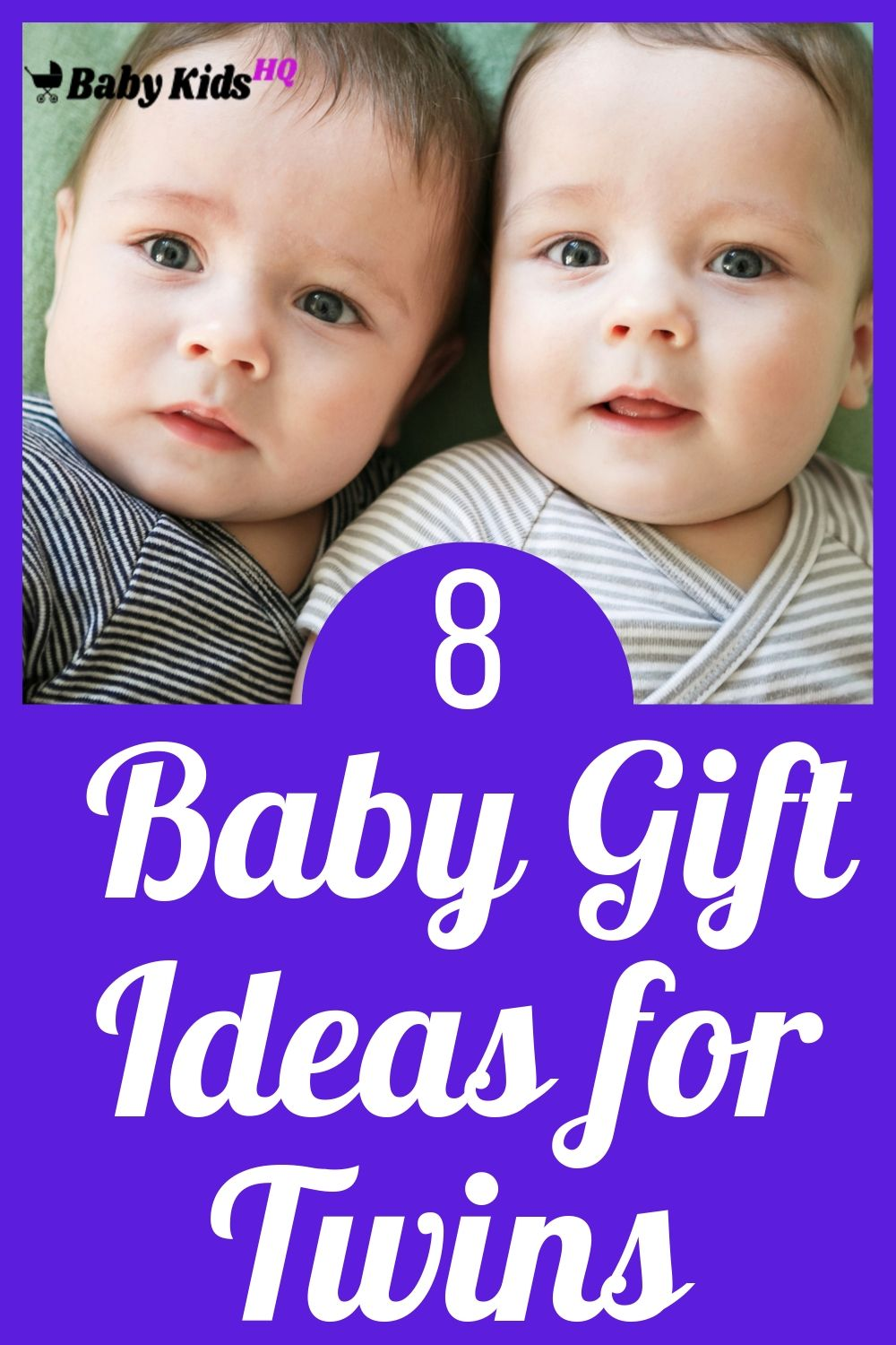 8 Baby Gift Ideas for Twins