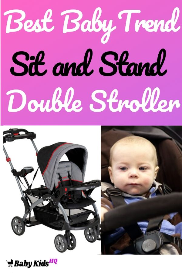 Best Baby Trend Sit and Stand Double Stroller
