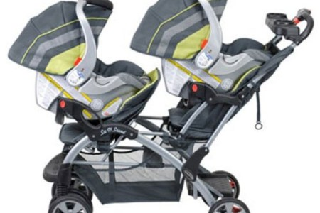 Baby Trend Sit N Stand Double Stroller, Carbon Review