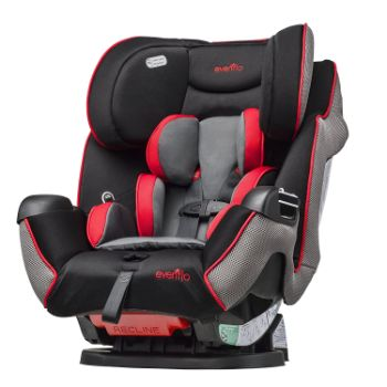 Evenflo Symphony LX Convertible Car Seat Review